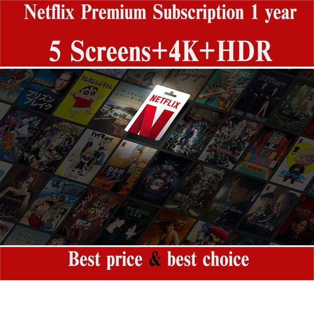 2021 New stable Netflix premium account 4k for 12 months