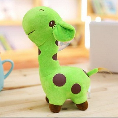 Unisex Cute Gift Plush Giraffe Soft Toy Animal Doll Baby Kid Plush Stuffed Toys Child Christmas Birthday Happy Colorful Gifts