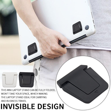 Laptop-Stand-Reading Cooling-Holder Invisible-Design Ergonomic Foldable Universal Free