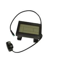 دراجة كهربائية 24 فولت 36 فولت 48 فولت لوحة التحكم الذكي شاشة الكريستال السائل Ebike Kt تحكم خيار مقاوم للماء Lcd3 ل Kunteng Displa-في شريط المقود من الرياضة والترفيه على