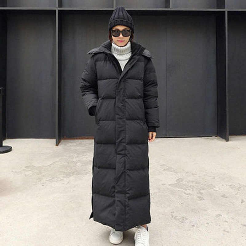Parka ceket ekstra Maxi uzun kış ceket kadınlar kapşonlu büyük artı boyutu kadın bayan rüzgarlık palto dış giyim giyim kapitone 30