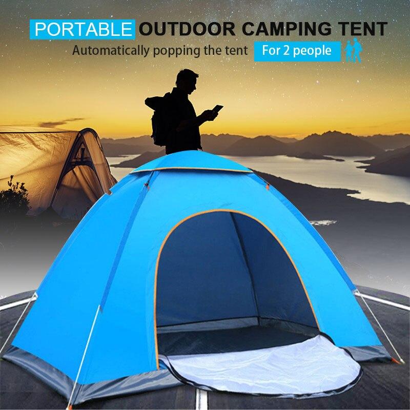 barracas automaticas ao ar livre de acampamento barracas a prova d2 agua 2 pessoas portatil dobravel