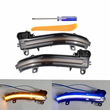 Turn Signal Light LED Dynamic Side Mirror Indicator Sequential Blinker For BMW 2 4 Series X1 F22 F23 F32 F33 F36 2014-2017 universal replacement carbon fiber mirror cover for bmw rearview door mirror covers x1 f20 f22 f30 gt f34 f32 f33 f36 m2 f87 e84