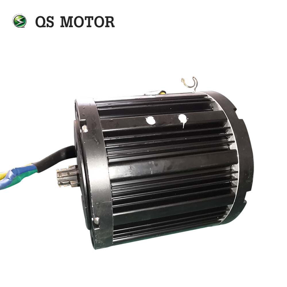 QS Motor Sprocket type 428 Product 138 <font><b>3000W</b></font> 100kph mid drive Motor for electric motorcycle image