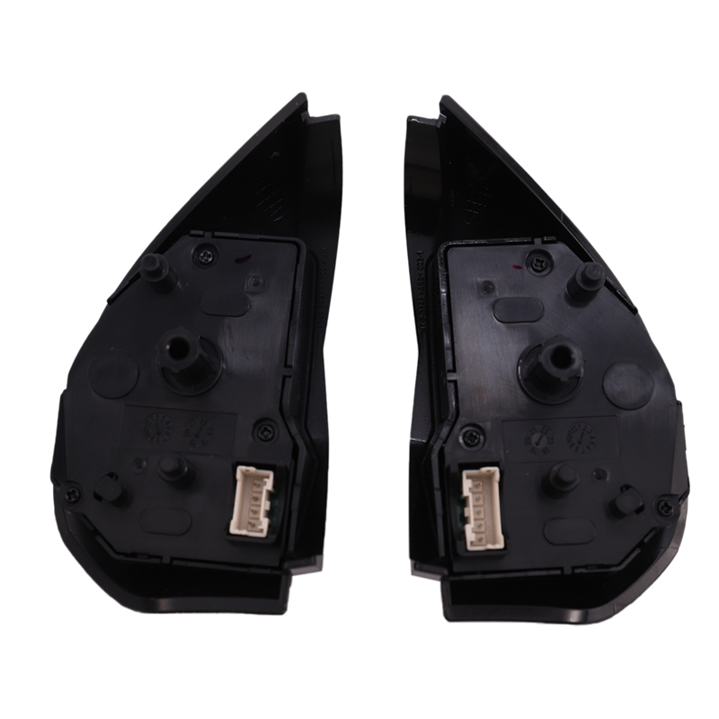 1 Pair Black Left+Right Multifunction Steering Wheel Control Buttons Car Steering Wheel Cruise Cancel Button <font><b>8602A008</b></font>, for Mitsu image