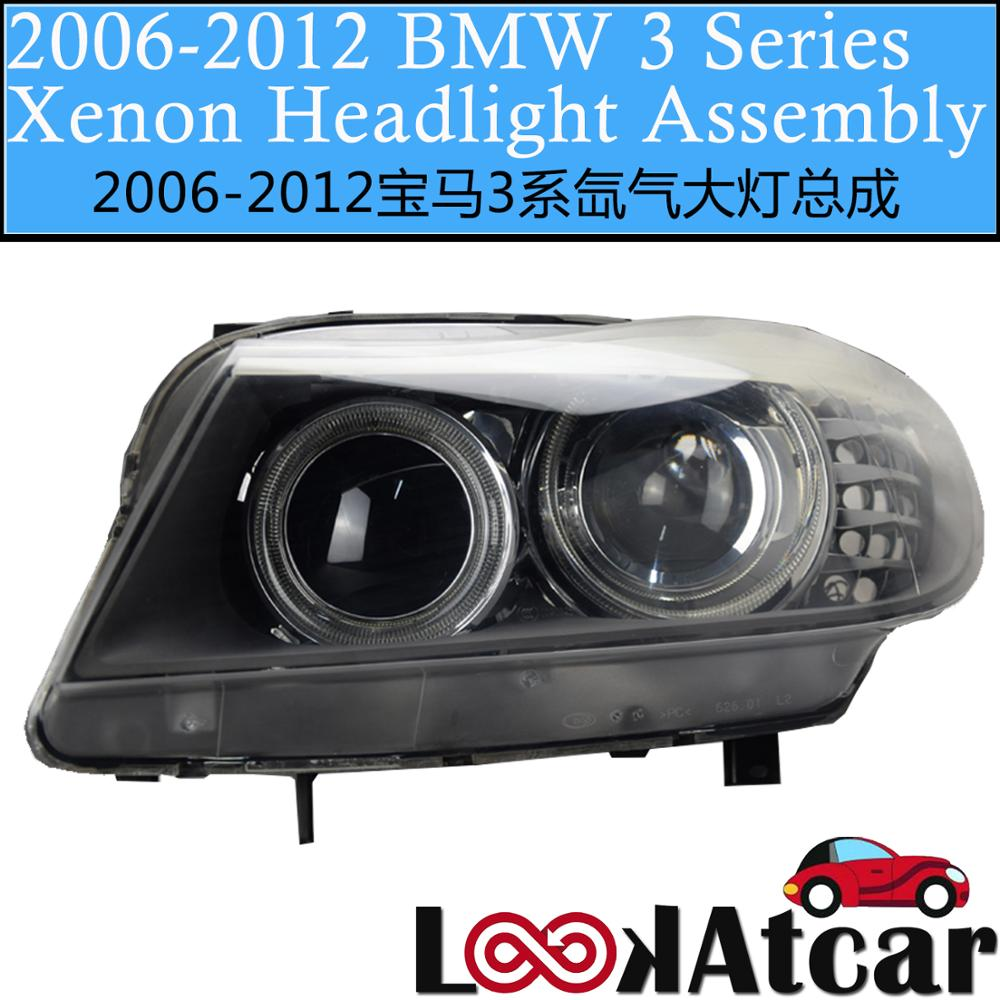 For BMW 3series 2006-2012 xenon headlight assembly 320 325 328 330 335 E90 original headlamp For BMW Car Parts image