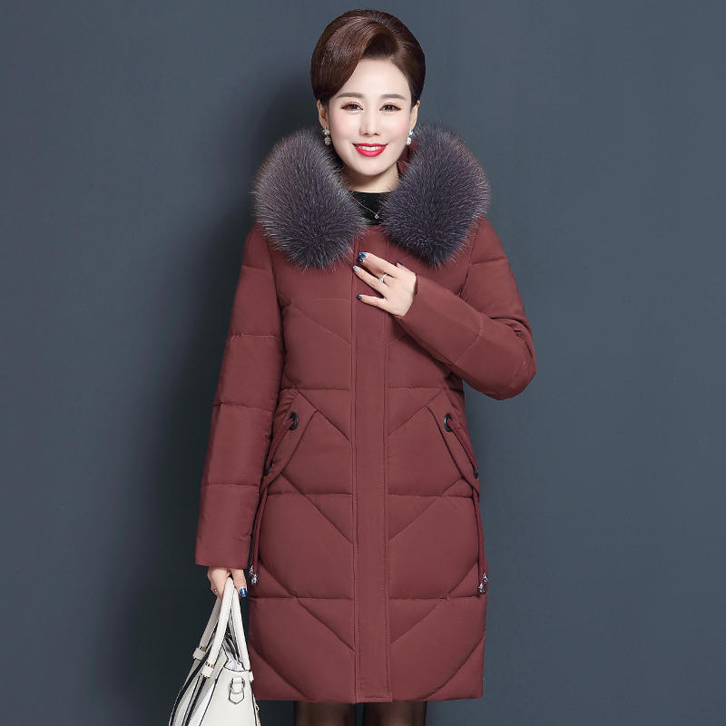 8XL-200-Pounds-Oversize-Down-Cotton-Coat-Women-Parka-Loose-Winter-Jacket-Outerwear-Warm-Thick-Hooded