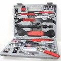 Fahrrad reparatur kit Multifunktionale Radfahren Werkzeug Kombination Werkzeug Reparatur Box 44 in 1 Fahrrad Reparatur Werkzeug Set hand werkzeuge-in Handwerkzeug-Sets aus Werkzeug bei