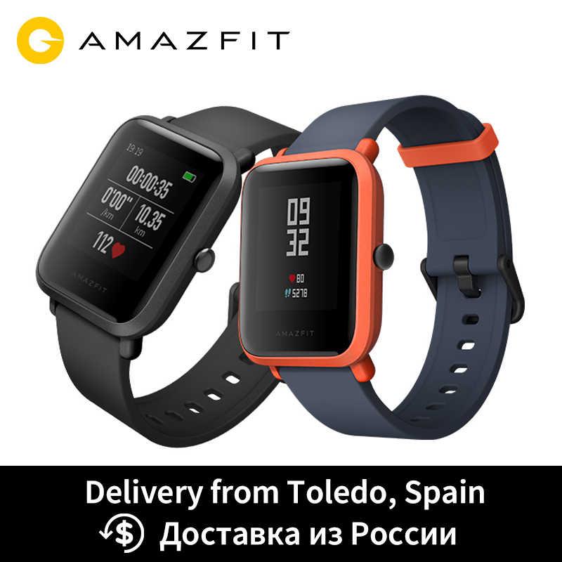 Huami Amazfit ביפ חכם שעון GPS Smartwatch אנדרואיד iOS קצב לב צג 45 ימים סוללה חיים IP68 תמיד- על תצוגה