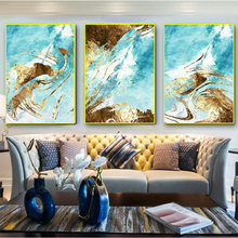 Скандинавский стиль абстрактная картина маслом плакаты и искусство