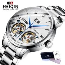 HAIQIN Mens Watches Top Brand Men Mechanical Watch