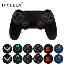 IVYUEEN 2 Pcs for Sony PlayStation 5 4 PS5 PS4 Controller Silicone Analog Thumb Grips Caps Cover for XBox One Series X S 360