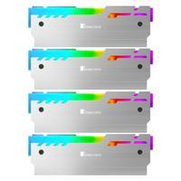 Jonsbo NC 3 4pcs Gorgeous Desktop Memory Heatsink Cooler Shell 5V RGB Radiator Heat Sink Cooling Vest 5V 3Pin Color Changed