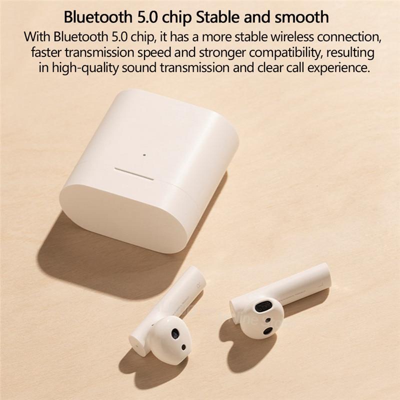 Xiao mi airdots Pro 2 air 2 tws BLUETOOTH Headset 2 mi echte draadloze Oortelefoon 2 Smart voice Control Lhdc tap Control Dual mi C ENC - 3