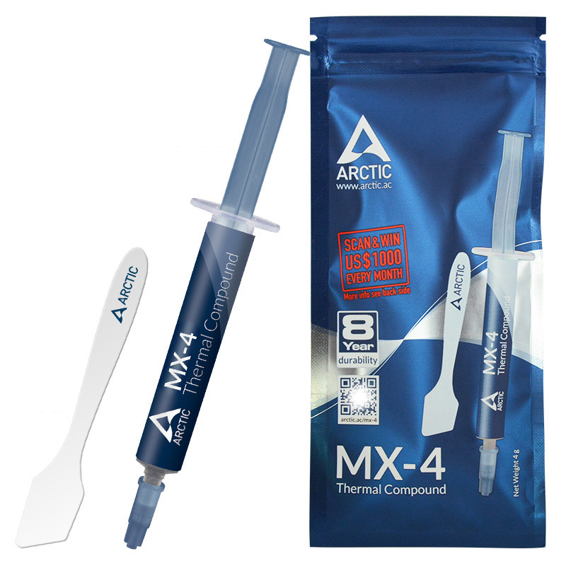 High-Density Thermal Compound Grease Tube Arctic Silver 5 For Cooling CPU And GPU Temperature