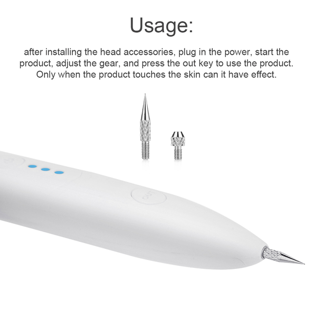 Laser Mole Tattoo Freckle Removal Pen Sweep Spot Mole Removing Point Pens Wart Dark Spot Remover Beauty Machine Skin Laser Care