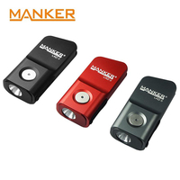 MANKER LAD II 300lm USB Rechargeable Keychain Flashlight CREE XPG3 / Nichia 219C LED Micro Size EDC Torch for Everyday Carry
