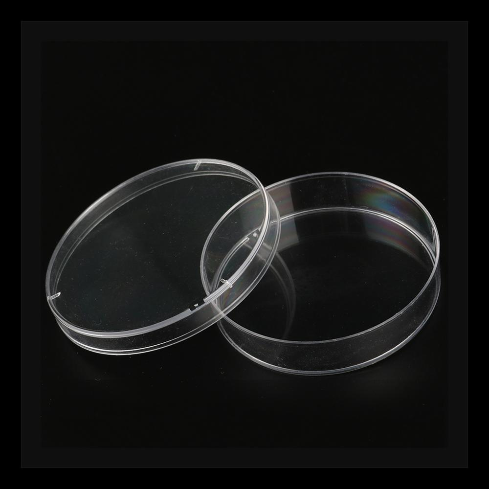 10Pcs 60mm Polystyrene Sterile Petri Dishes Bacteria Culture Dish Laboratory Medical Biological Scientific Chemical Lab Supplies