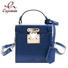 Pu cuir pierre modèle boîte sacs à main et sacs à main sac à bandoulière femme Design mode femmes sacs à bandoulière parti marque pochette