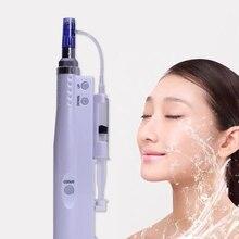 Иглы-бесплатная портативная инжектор кожи перо жизненно важные инъекции кислоты микроиглы снять уменьшить провисание кожи устройство удаления мертвой