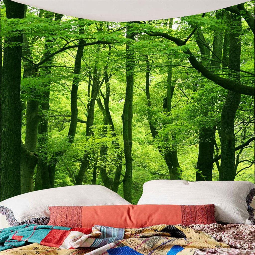 Ev ve Bahçe'ten Dekoratif Halılar'de Dropshipping Vintage dünya haritası duvar halıları asılı hippi goblen yatak örtüsü Yoga Mat yeni 2019 kalite destek toptan title=