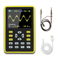 "High Quanlity Digital Mini Oscilloscope with 100MHz Bandwidth and 500MS/s Sampling Rate with 5012H 2.4"" LCD Display Screen"