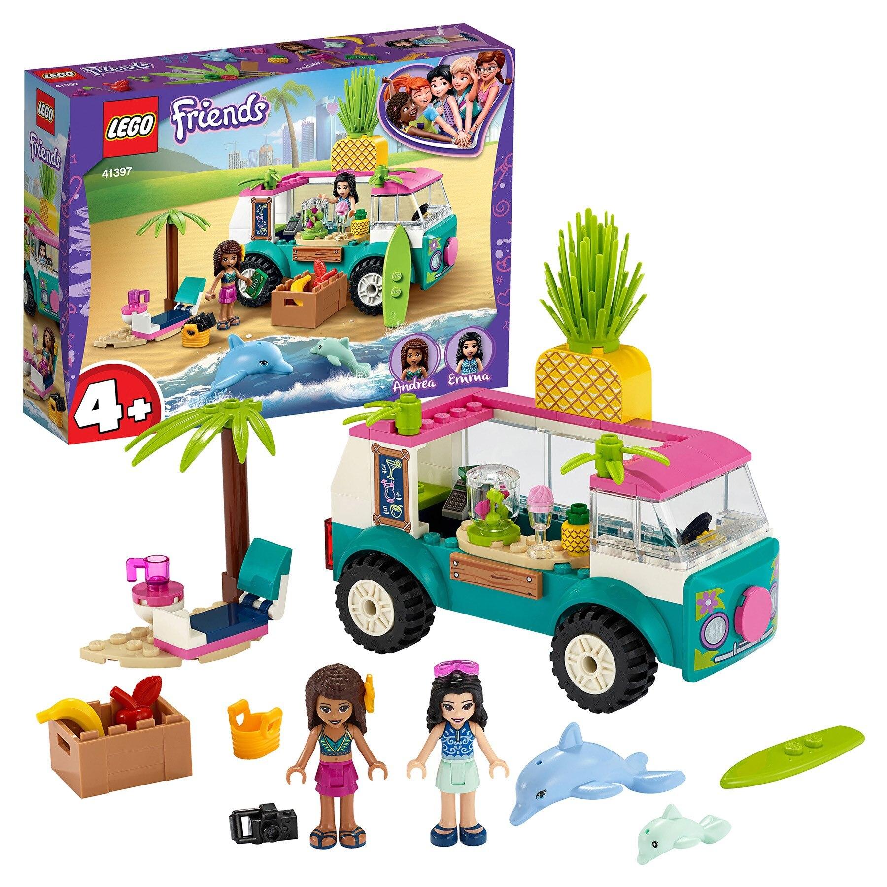 Designer Lego Friends 41397 Van-bar For Cooking Juice