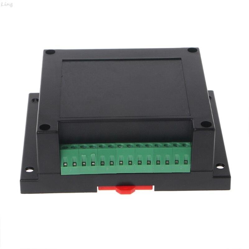 PLC Control Box Plastic Shell Electronic Project Case DIY Terminal Block