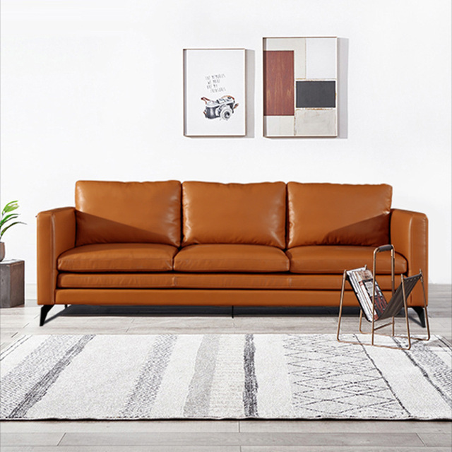 U-BEST Italian Minimalist Three Person Sofa 1