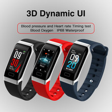 R7 Smart Wristband Heart Rate Health Monitor Bracelet USB Charging Band Fitness Tracker Sleep Blood Pressure Men's Sports Watch(China)
