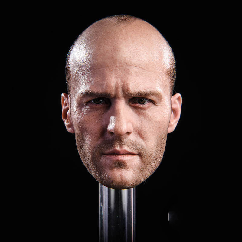 GACtoys GC023 1/6 Jason Statham Head Sculpt Fast And Furious 8 Death Squads Head Carving For 12
