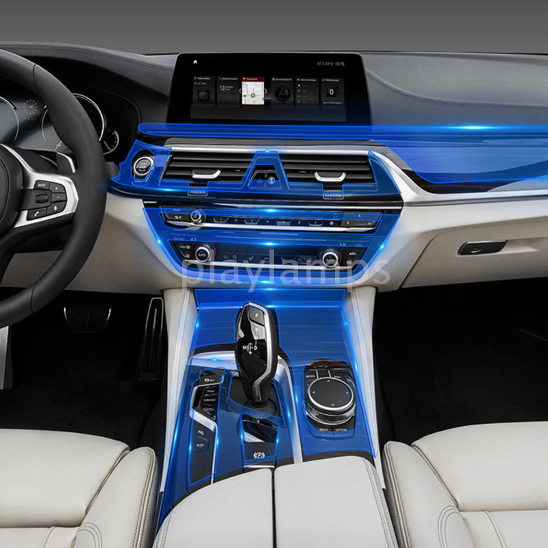 Car Stickers For BMW Transparent TPU Protective Film Stickers For BMW G30 G38 5 Series 528Li 530li 540 Interior Accessories