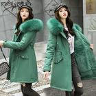 Cotton coat female w...