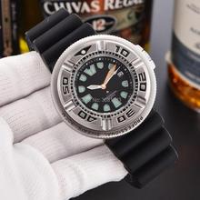 Dropshipping 2020 najlepiej sprzedające się produkty AAA Luxury Men zegarek kwarcowy wodoodporna koperta ze stopu czarny silikonowy zegarek sportowy Luminous tanie tanio TACTO 22cm QUARTZ 3Bar Klamra CN (pochodzenie) ALLOY 10mm Hardlex Kwarcowe Zegarki Na Rękę Papier 43mm CiTi-2 20mm ROUND