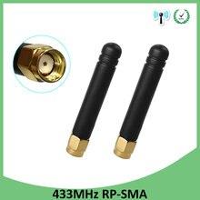 Lorawan – antenne directionnelle étanche 433 MHz, connecteur RP-SMA dbi 433, 20 pièces, prise mhz, compteur de gaz étanche