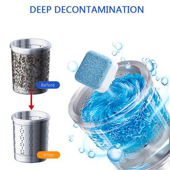 Maszyna do czyszczenia prania Detergent tabletka musująca podkładka do usuwania kamienia nadaje się do użytku ze wszystkimi zbiornikami pralki dla gospodarstw domowych tanie i dobre opinie CN (pochodzenie) 1 pc inny Dropshipping Wholesale