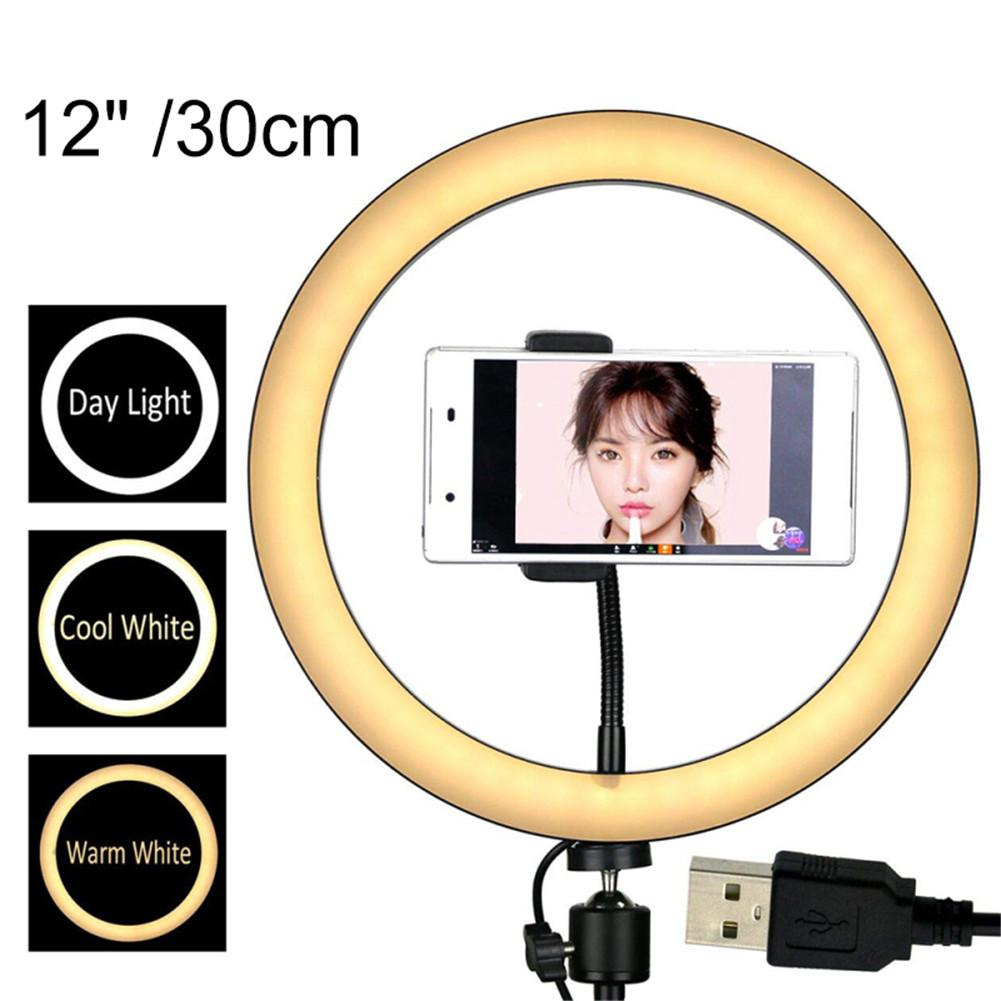 Ring-shaped Self-timer Fill Light Selfie Ring Light Dimmable Lamp LED Circle Lights For Make Up Live Streaming Photography Vlogg