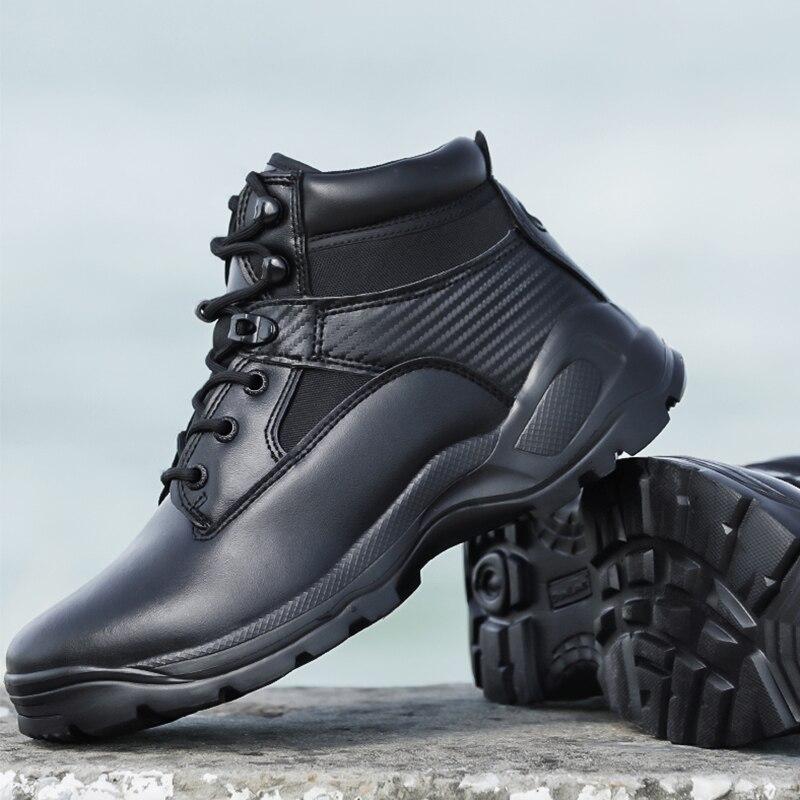 Outdoor Wandern Trekking Schuhe Männer Leichte Militärische Taktische Stiefel Kampf Schuhe Winter Nicht-rutsch Verschleiß-beständig Berg Schuhe