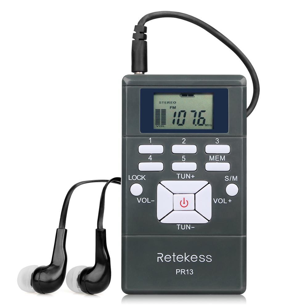 Image 5 - Retekess Wireless FM Transmission System TR502 15W FM Transmitter+10pcs PR13 Radio +Antenna for Church Meeting TranslationMicrophones   -