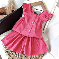 Hdeeac8bfff604518900fb49b36d465ccq Melario Kids Girls Clothing Sets Summer Baby Girls Clothes T-Shirt and Jeans Shorts Suit 2Pcs Children Clothes Suits