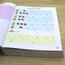 12 livros criança iluminismo ensino precoce exercício livro copybook crianças aprender chinês pinyin matemática libros livres libro