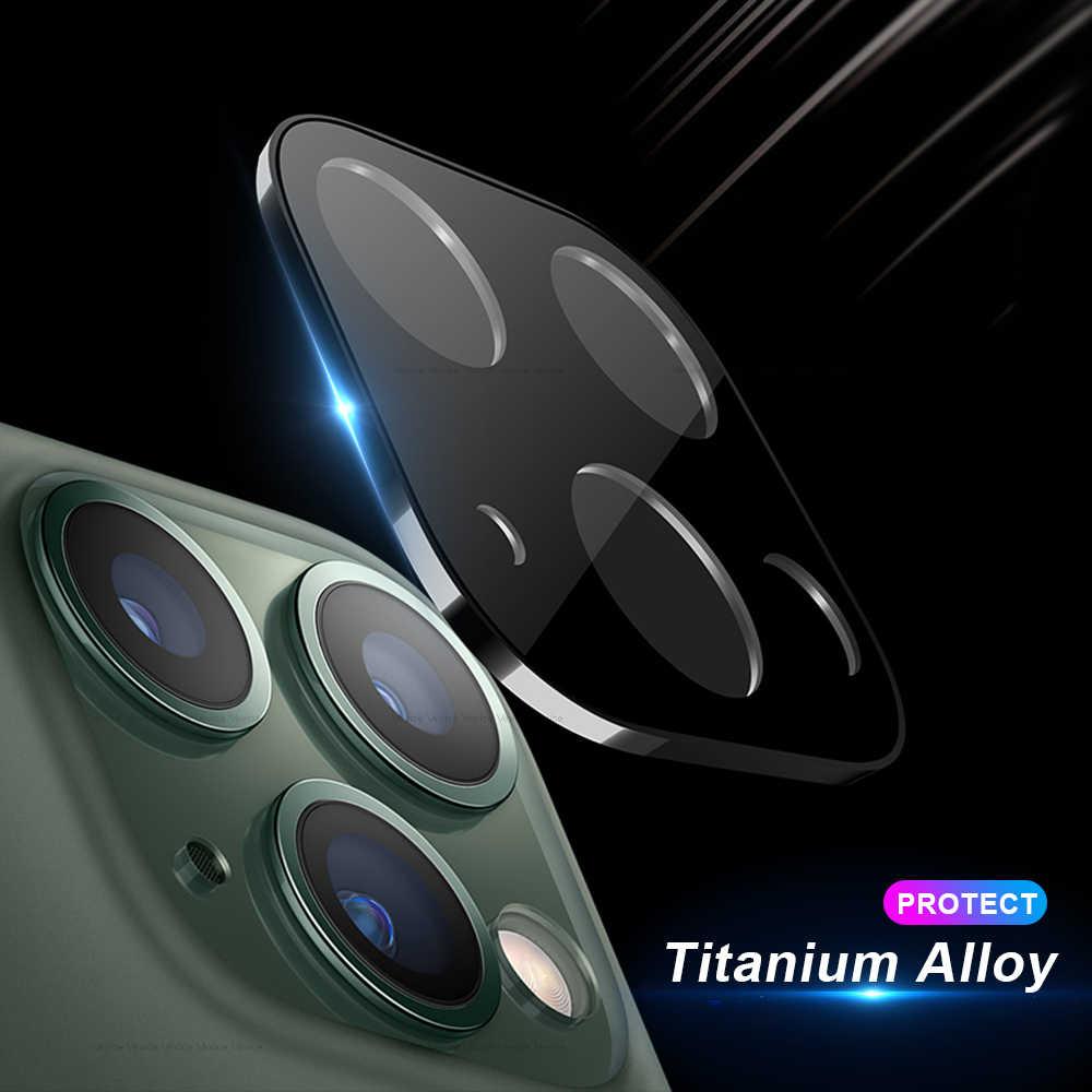 Kính Camera Sau Ốp Lưng Bảo Vệ Cho iPhone XR XS 11 Pro Max X 10 Hợp Kim Titan Màn Hình Máy Ảnh Dành Cho iPhone 11Pro Max Ốp Lưng