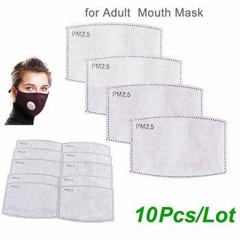 Μάσκα προσώπου PM2.5 με βαλβίδα + 12 φίλτρα άνθρακα Προϊόντα Περιποίησης Προϊόντα Υγείας MSOW