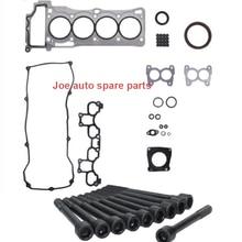 QG16 QG16DE Engine Full gasket set kit cylinder head bolt nuts for Nissan Sunny NEO N16 Primera P12 Sentra N16 Scala Almera 1.6L