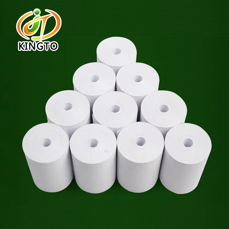 Wholesale Thermal Paper 57x30mm No Core Cash Register Thermal Receipt Paper Roll