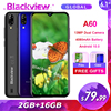 Blackview A60 2GB+16GB 4080mAh Smartphone Android 10.0 Quad Core 6.1'' 19.2:9 Waterdrop Screen 3G Mobile Phone 1