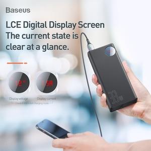 Image 2 - Baseus Quick Charge 3.0 30000mAh Power Bank Type C PD 30000 mAh Powerbank Portable External Battery Charger For iPhone Xiaomi Mi