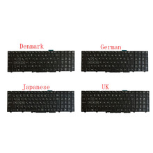 NEW laptop keyboard for Clevo P750ZM P750ZM-G P751ZM P750DM P750DM-G P770DM P770DM-G Danish/German/Japan/Spanish/UK with backlit new for macbook pro 13 a1278 topcase palm rest keyboard backlit us uk euro eu german french danish russian spanish 2011 2012