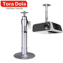 TORA DOLA Projector Holder Ceiling Mount Loading 3.5KG Roof Projector Bracket For Multimedia Beamer,use in Business & Education business education
