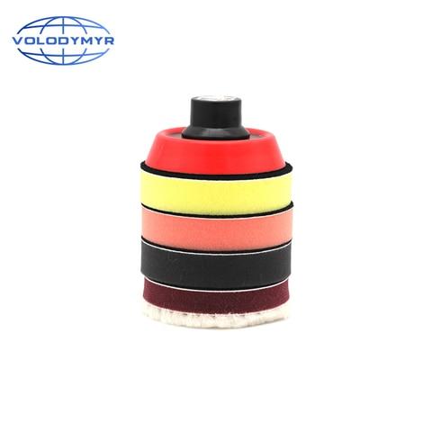 as almofadas de polimento 3 polegada mini kit de broca incluem m14 thread tray las